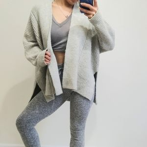 Asos chunky open from sweater cardigan
